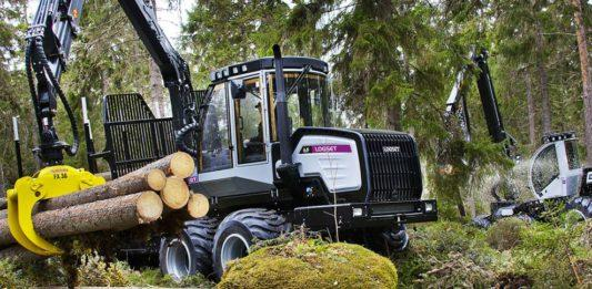 Форвардеры LOGSET GT на лесозаготовке