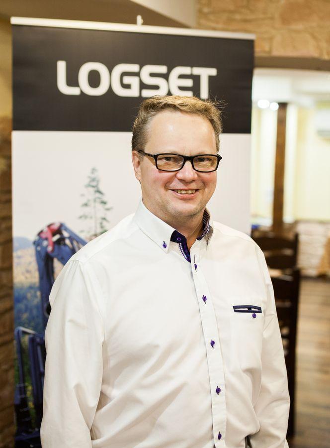 Юха Кирвесниеми, менеджер по продажам LOGSET в России