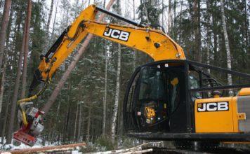 Гусеничный харвестер JCB JS220