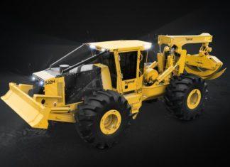 Трелевочные тракторы Tigercat серии H